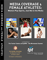 """Media Coverage and Female Athletes"" DVD box cover"