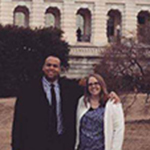 FSoS grads visit Capitol Hill to highlight the importance of the AAMFT Minority Fellowship Program