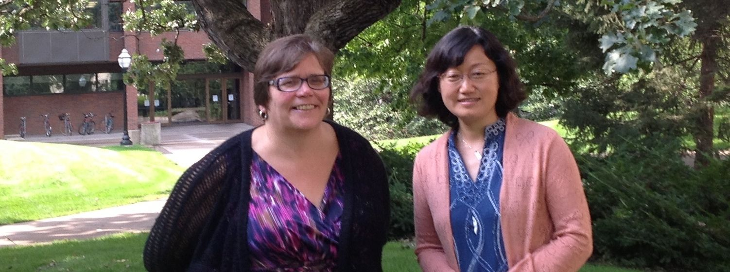 PsTL's Jill Trites plans to collaborate with Qingdao University's Joy Song to develop a COIL course.