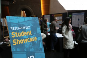 Student Showcase sign