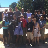 Peter with his workshop group at the Sewanee Writers' Conference.
