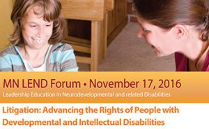 Banner image promoting the MN LEND Forum on November 17, 2016.