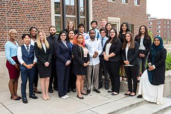 2018 McNair Scholars group photo