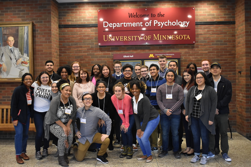2018 Diversity in Psychology attendees